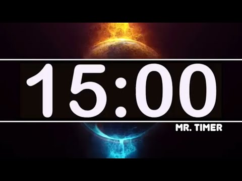 15 Minute Timer with Epic Music! Timer for Kids, Classroom, Exercise!  Amazing Timer for 15 Minutes!