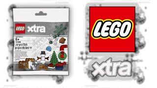 ОБЗОР НОВОГО НАБОРА ЛЕГО XTRA 40368 РОЖДЕСТВЕНСКИЕ АКСЕССУАРЫ / Lego Xtra 40368 Christmas Accecories