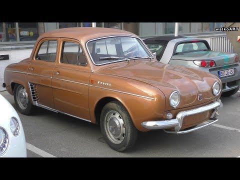Renault Ondine (Dauphine) 1960-1962-  Classic Car - Oldtimer