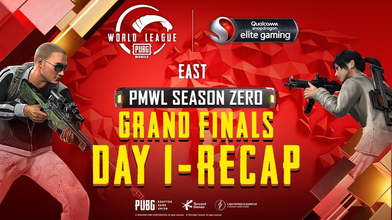 PUBG MOBILE World League East Season ZERO - WEEK 4 DAY 1 Grand Finals Recap