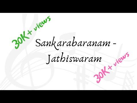Jathiswaram - Sankarabaranam