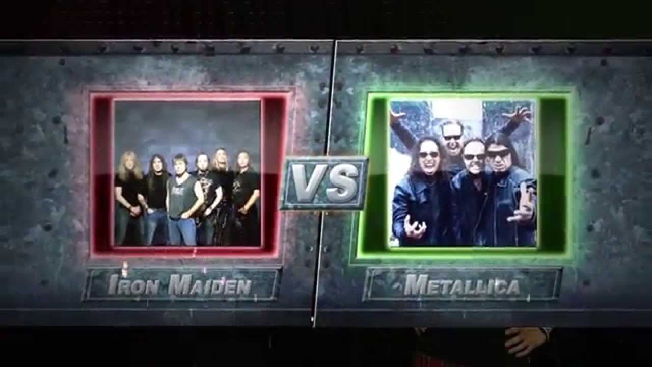 iron maiden vs metallica playoff 2 metalfight 436 youtube. Black Bedroom Furniture Sets. Home Design Ideas