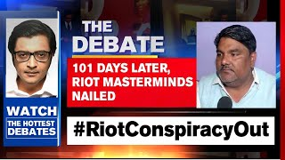 Delhi Riot Conspiracy Proof Stares At Lobby | The Debate With Arnab Goswami