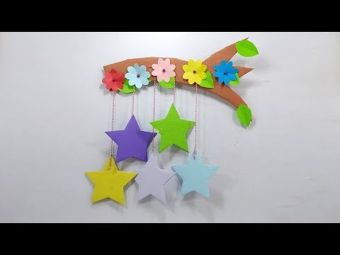 Paper Wall Hanging Decorations for Christmas | Hanging Christmas Craft | Christmas Ornaments