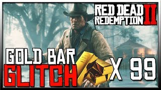 Best RDR2 Gold Bar Glitch - The ONLY Red Dead  Redemption 2 Money Glitch You Will Ever Need