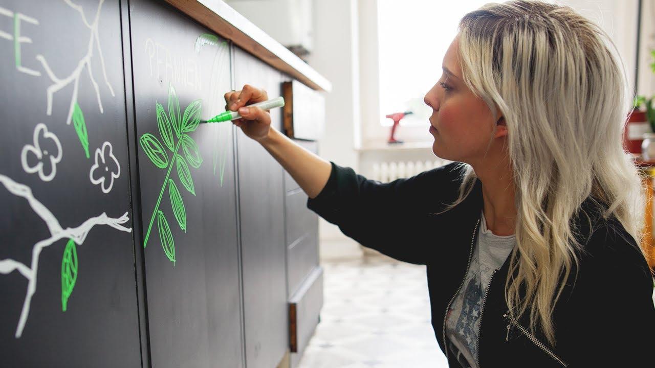 Super günstig: neue Küchenfronten #2 MakeOver: Küche | DIY - YouTube