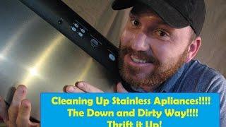Scratch Fix Stainless Steel Appliances