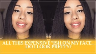 All This Expensive Makeup | GRWM