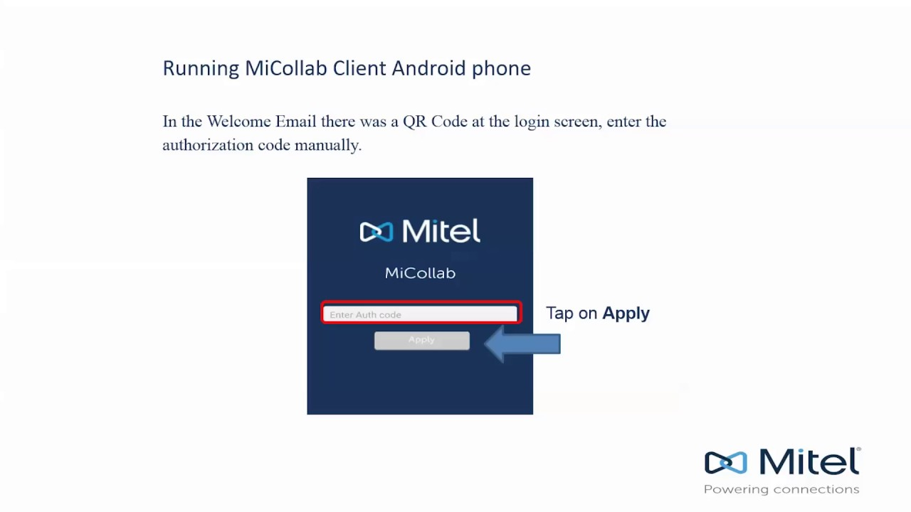 MiCollab: Android Install Guide