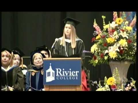 Rivier College - Commencement 2012 - Kala Rae Boudreau