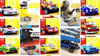 Hot Wheels 50th Anniversary Throwback series, upcoming Star Wars and more News