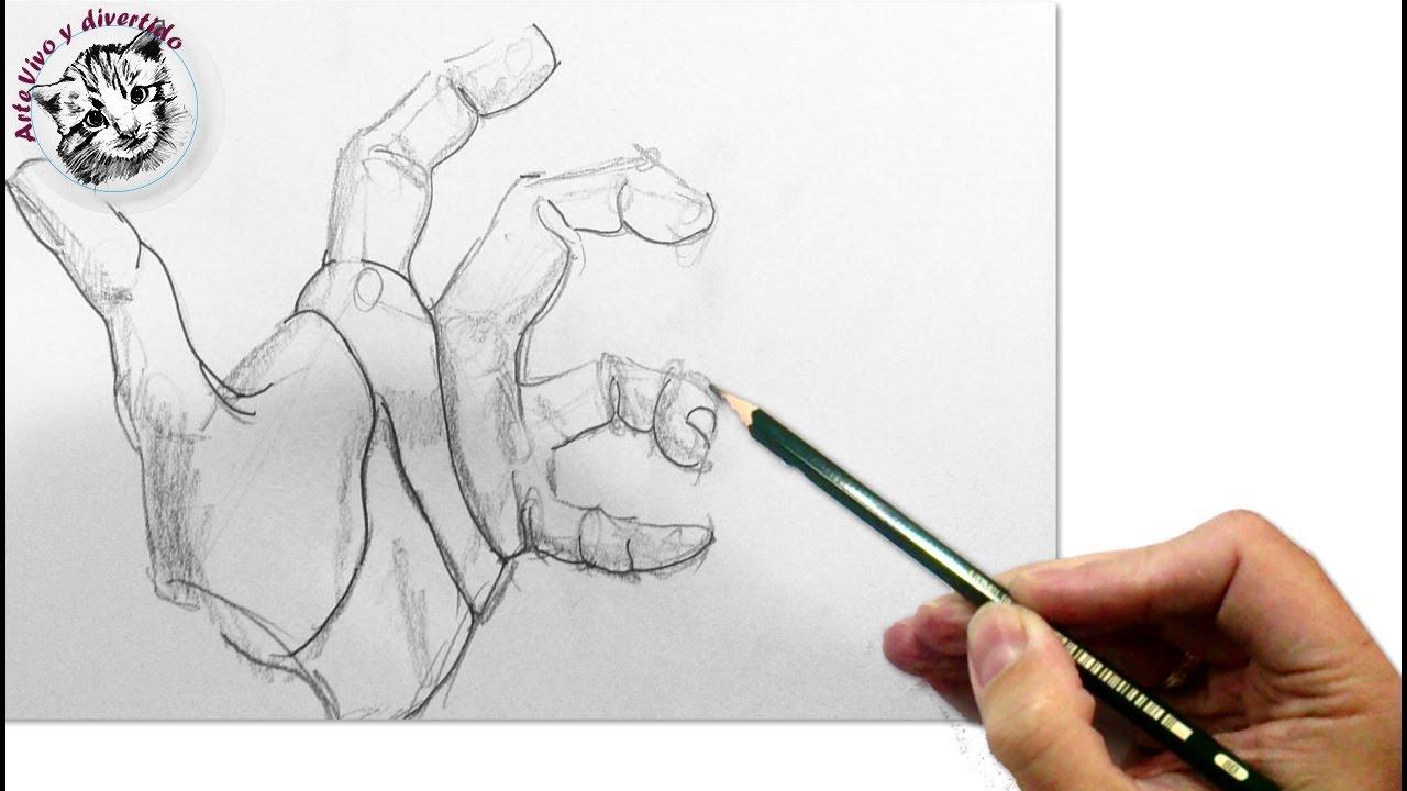 Como Dibujar Manos con la Técnica más Fácil y Efectiva que Existe ...