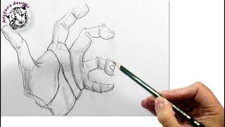 Como Dibujar Manos con la Técnica más Fácil y Efectiva que Existe