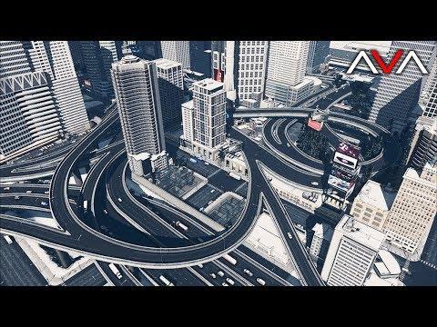 Cities: Skylines  AVALON 18  Underpass Marketplace