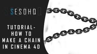 Cinema 4d Tutorial - How To Make A Chain | Add on effect