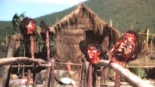 Siege at Firebase Gloria (1989) Heads on stakes scene