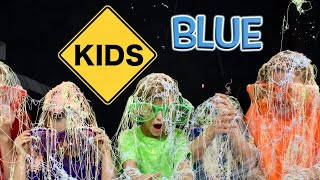 Learn English Colors with Sign Post Kids!  Blue 5