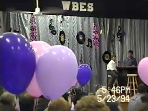 West Blocton Elementary School 6th Grade Graduation Banquet 1994