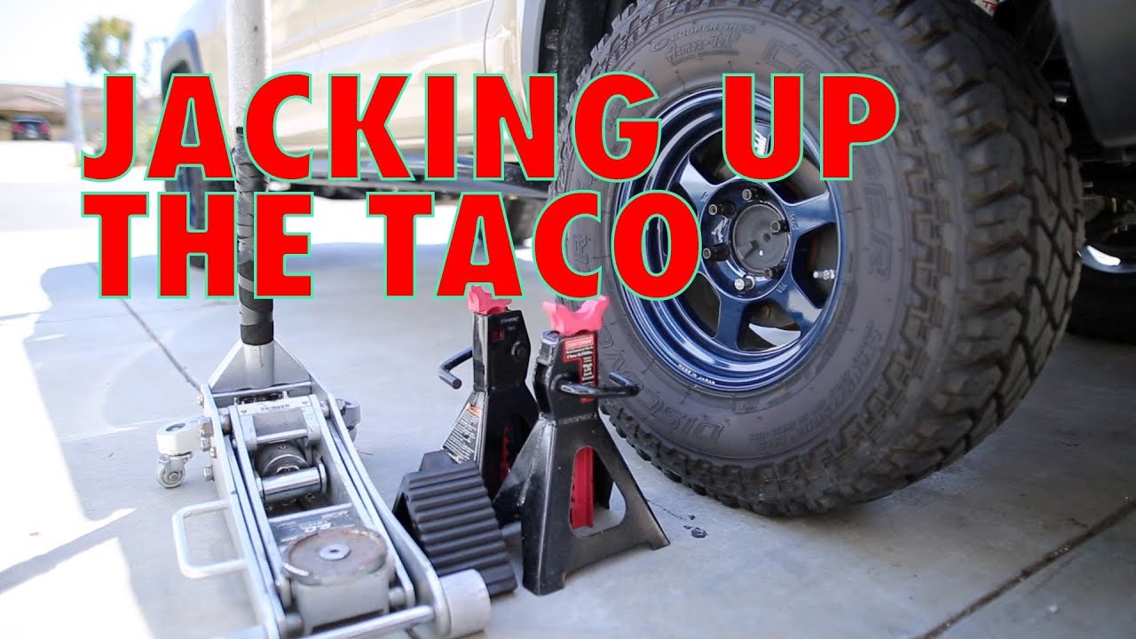 Tacoma Trd Pro >> Jacking up the Taco in a good way! For all 3rd gen Toyota Tacomas - SR5 Sport TRD & Pro - Taco ...