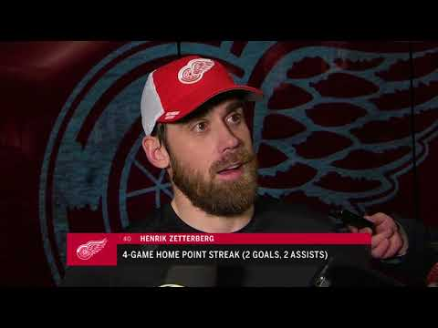 Red Wings LIVE 12.29.17: Henrik Zetterberg