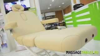 видео US Medica Profi Стационарный массажный стол