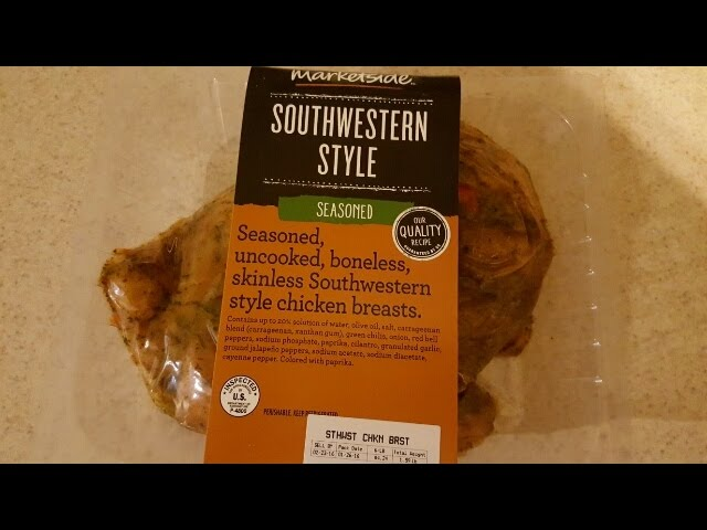 Southwest Grilled Chicken Breast From Central Market Nurtrition
