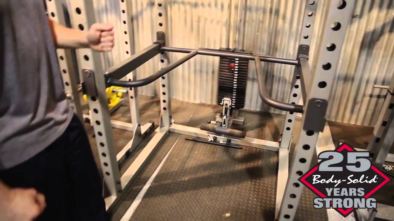 dip exercises using dip attachment on body solid gpr378 power rack