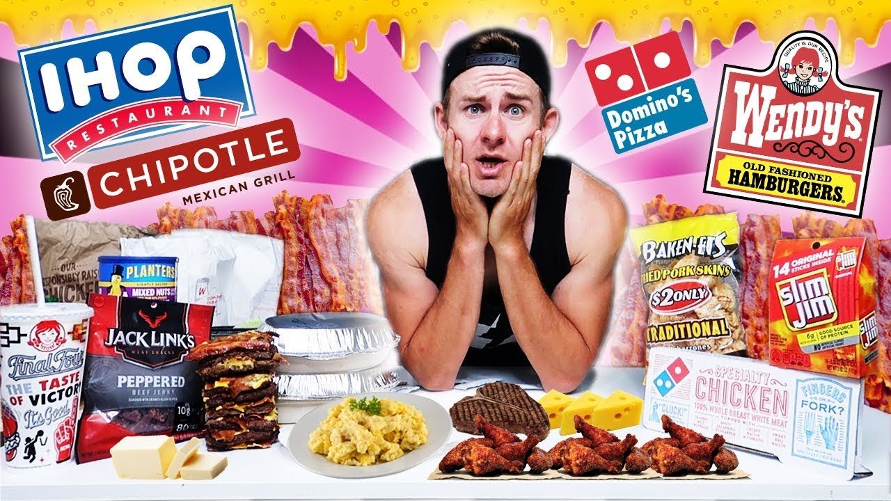 THE ULTIMATE KETO DIET CHALLENGE! (8,000+ CALORIES)