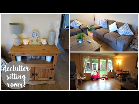 Decluttering Our Sitting Room! | Phoebe & Me