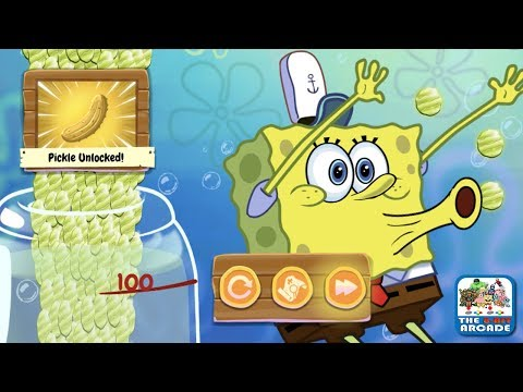 SpongeBob Run - Dancing for Pickles by doing the Pickle Dance (Nickelodeon Games)