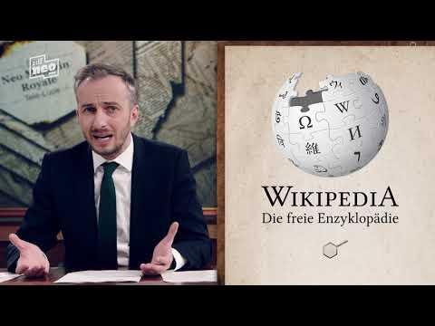 Die Telelupe: Wikipedia   Neo Magazin Royale Mit Jan Böhmermann - ZDFneo