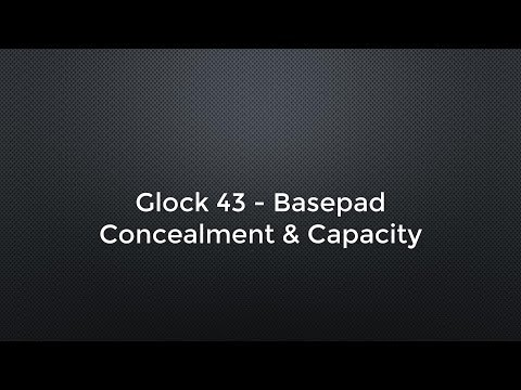 Glock 43 - Capacity and Concealment