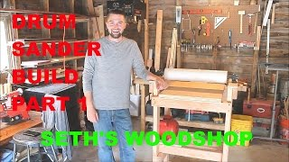 Part one of the partially complete Drum Sander I have been fabricating in my home wood shop. Like, comment, and subscribe!