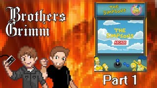 Brothers Grimm: The Simpsons (Arcade) Pt1