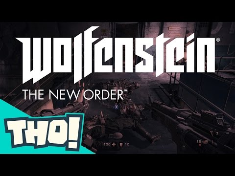 Let's Play Wolfenstein: The New Order Tho Pt.2 with Angel, Luis and Zach