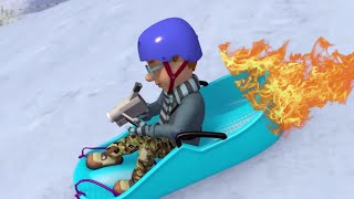 Fireman Sam 🌟Norman's Blazing Fast Snow Sled! 🔥Firefighter's Best Moments 🔥Kids Cartoons