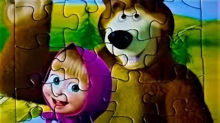 MASHA AND THE BEAR PUZZLE GAMES JIGSAW МАША И МЕДВЕДЬ ПАЗЛЫ