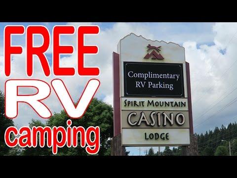 Free RV Camping - Parking - At Casinos