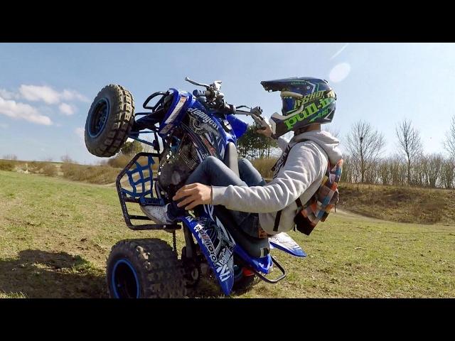 250 Raptor / Wheeling / labourage / top speed