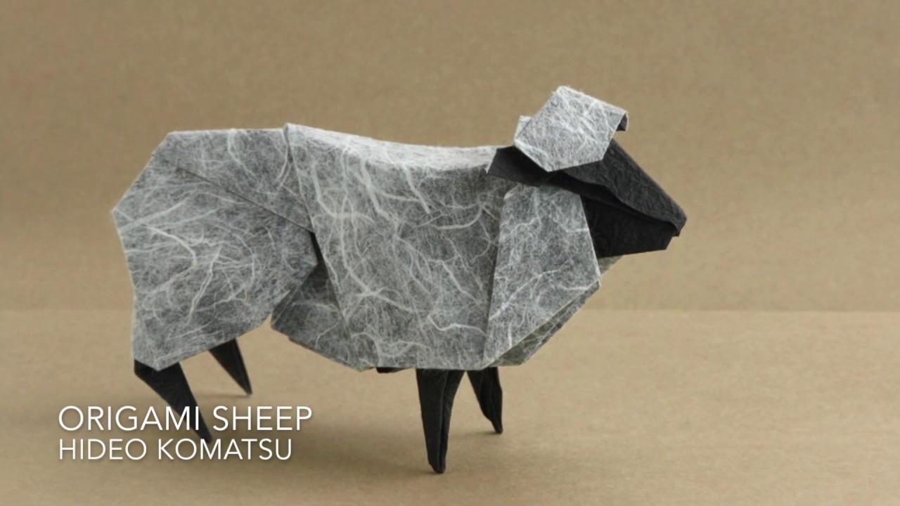Origami Sheep By Hideo Komatsu