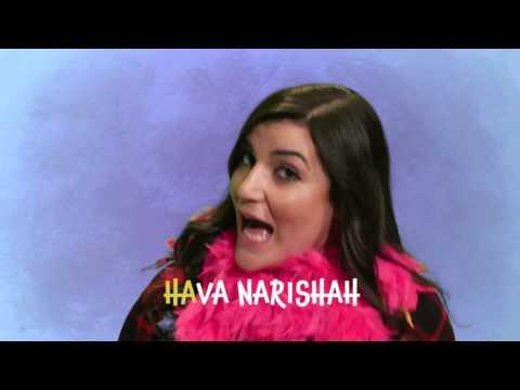 Chag Purim song lyrics video (Hava narisha RASH RASH RASH)