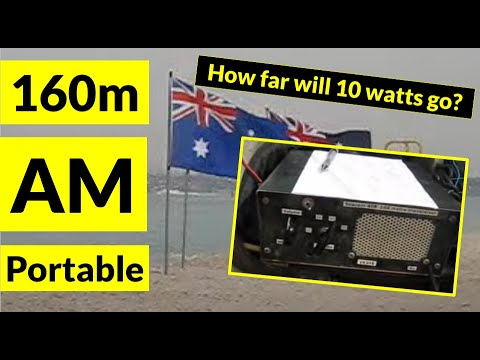 160 metres AM portable from Carrum Beach