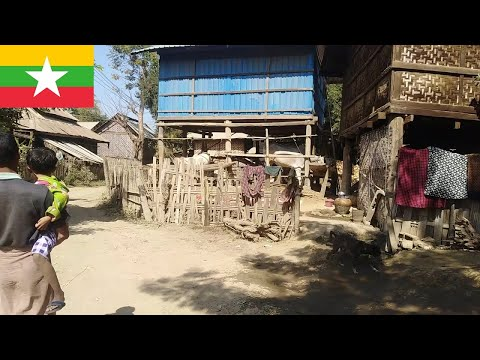 Myanmar Village Life In 2020