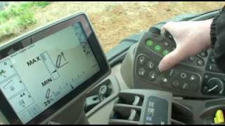 John Deere 8R tractors - CommandArm control console