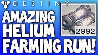destiny best helium filaments farming spot run unlimited helium coils