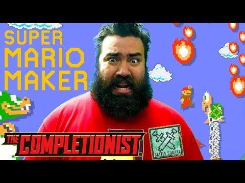 Super Mario Maker Expert Levels  | Battle Square | The Completionist