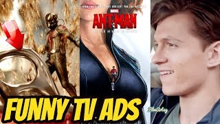 Avengers: Endgame Cast Funny TV Commericals and Ads | Try Not To Laugh