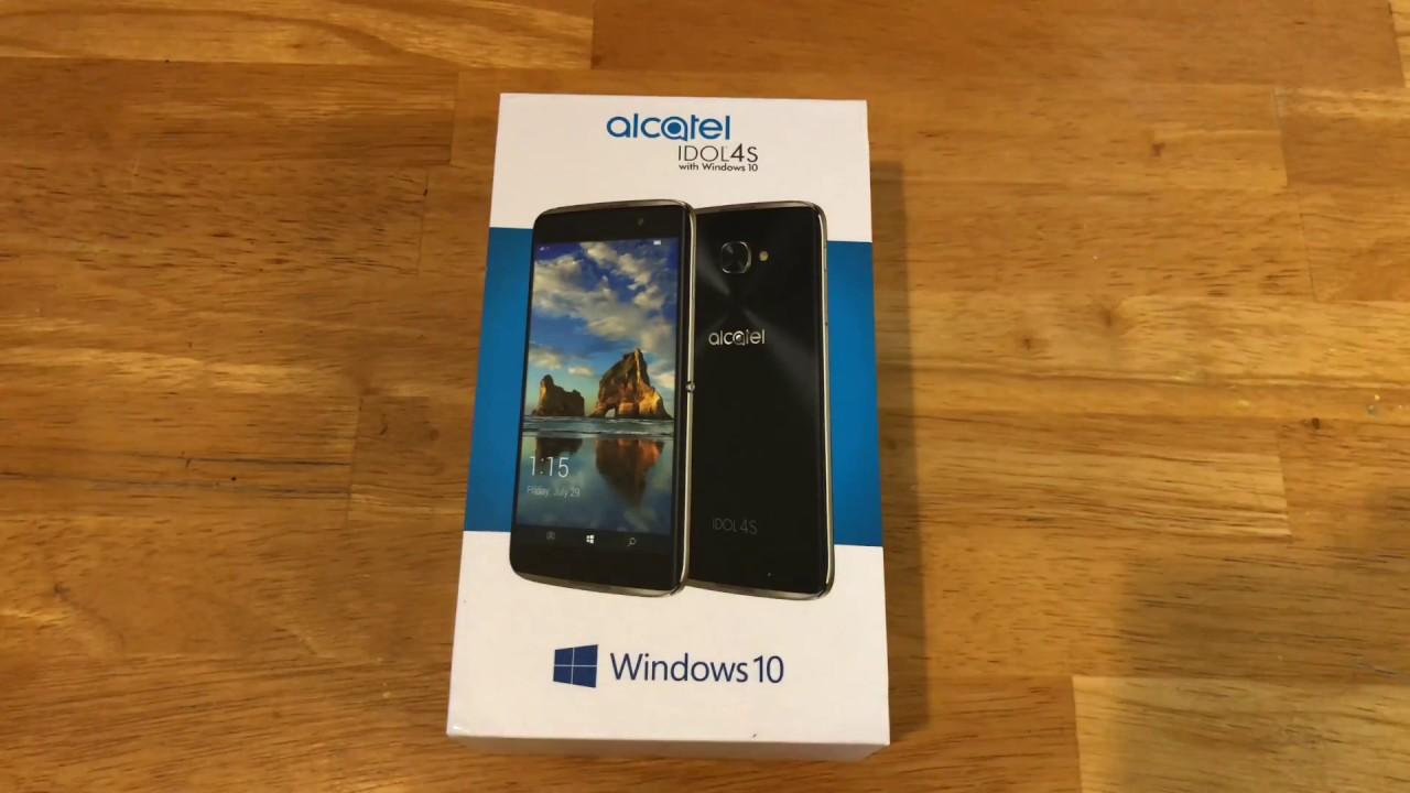 Alcatel IDOL 4S Windows 10 Hands on   Do we need it in 2018?