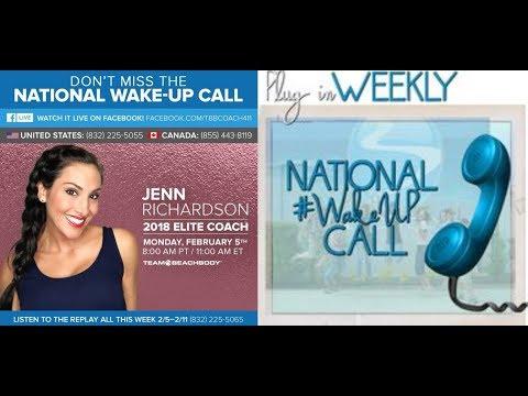 National Wake Up Call Jenn Richardson- Instagram Training