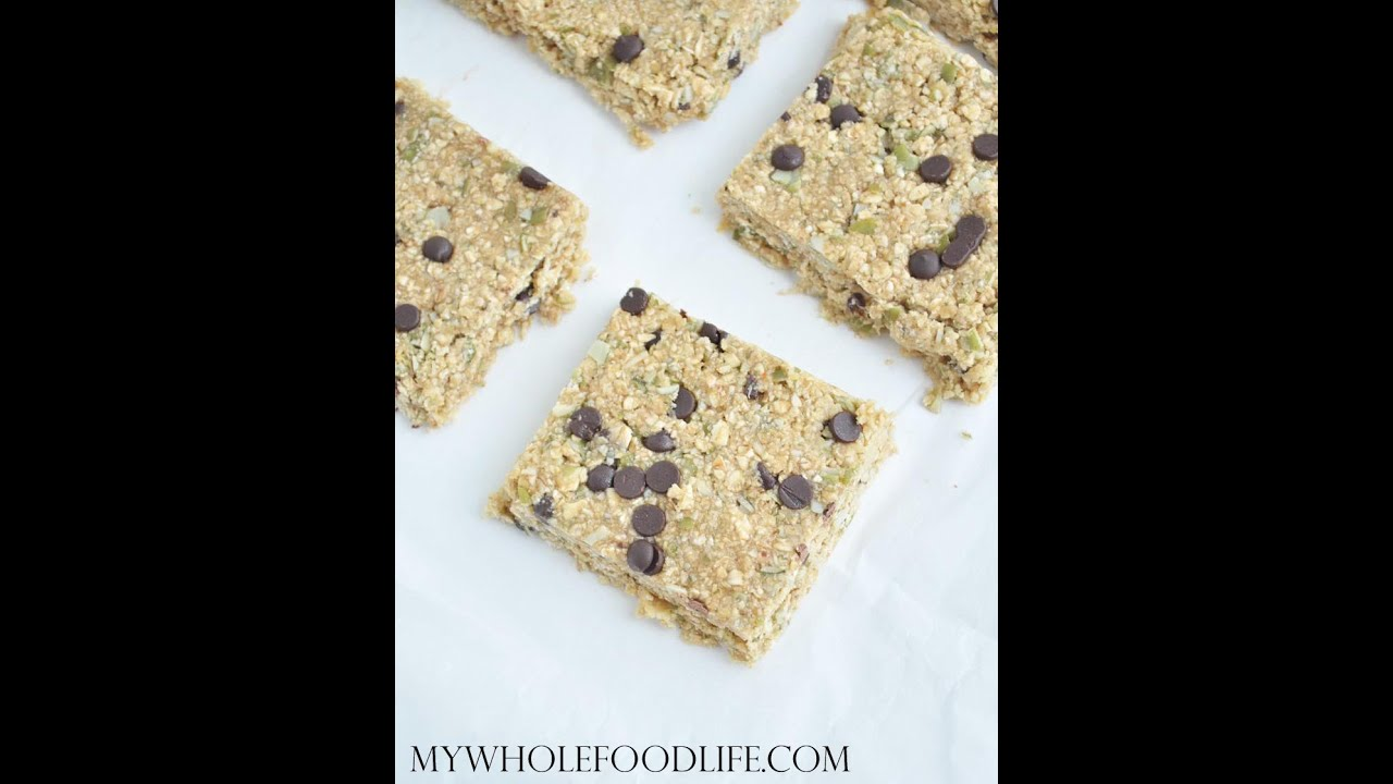 how to make granola bars without sugar
